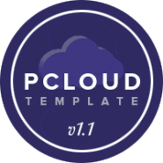 pcloud WordPress template