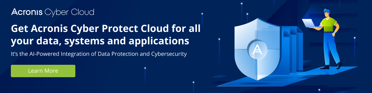 Acronis Cyber Cloud