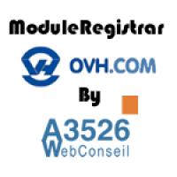 OVH® - Registrar Module - NEW APIv6