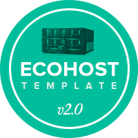 Ecohost WordPress template