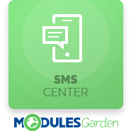 SMS Center For WHMCS