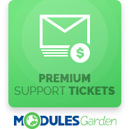Premium Support Tickets For WHMCS