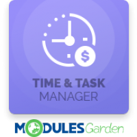 Time & Task Manager For WHMCS