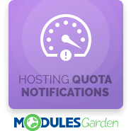 Hosting Quota Notifications For WHMCS