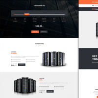 lilyHost | WHMCS Hosting Template