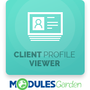 Client Profile Viewer For WHMCS