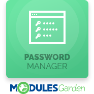 Password Manager For WHMCS