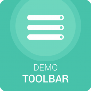Demo ToolBar