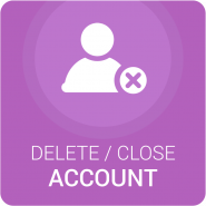 Delete/Close Account