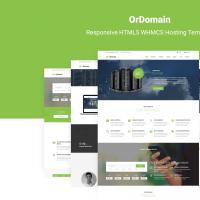 OrDomain   Responsive HTML5 WHMCS Hosting Template