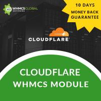 Cloudflare WHMCS Module