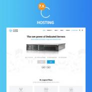 CloudOcean - Responsive Hosting WHMCS 7.5.1 Theme