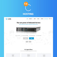 CloudOcean - Responsive Hosting WHMCS7 Template