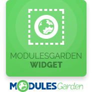 ModulesGarden Widget For WHMCS