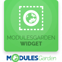 ModulesGarden Widget For WHMCS