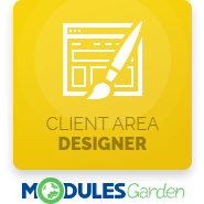 Client Area Designer For WHMCS