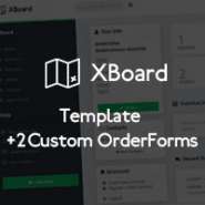 XBoard - WHMCS ClientArea Template