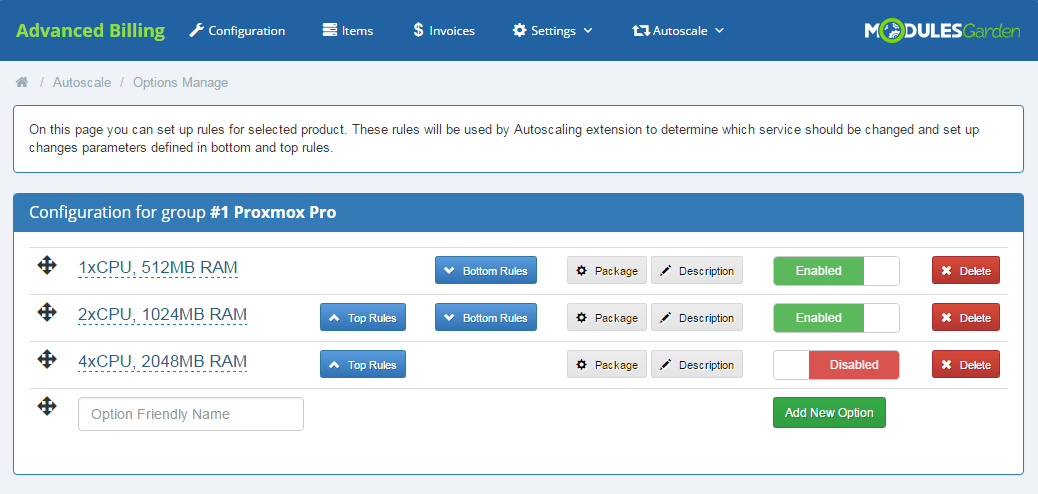 Proxmox Cloud Autoscaling For WHMCS - WHMCS Marketplace