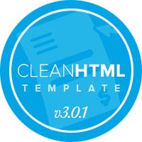 CleanHTML Invoice and Quote Template