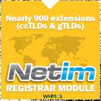 NETIM Registrar Plugin