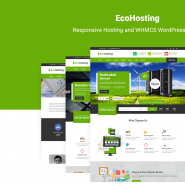 EcoHosting | Responsive Hosting and WHMCS WordPress Theme