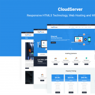 CloudServer | Responsive HTML5 Technology, Web Hosting and WHMCS Template