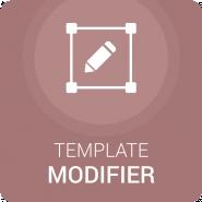 Template Modifier