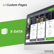 X-DATA - WMHCS Web Hosting Template