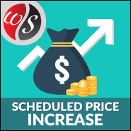 Scheduled Price Increase
