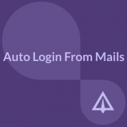 Auto Login From Mails