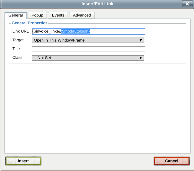 Auto Login From Mails WHMCS Marketplace - Open invoice login