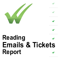 Reading Emails & Tickets Report