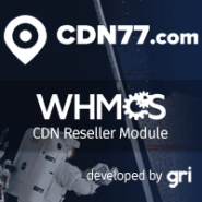 CDN77 CDN Reseller Module for WHMCS