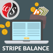 Stripe Balance Widget