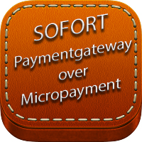 SOFORT Payment gateway over Micropayment