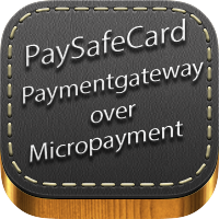 PaySafeCard Payment gateway over Micropayment