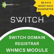 Switch Domain Registrar WHMCS Module