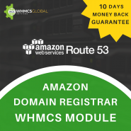 Amazon Route53 Domain Registrar WHMCS Module