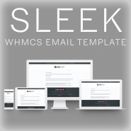 SLEEK: Email Template for WHMCS
