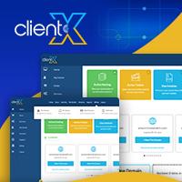 ClientX - WHMCS Client Area Theme/Template