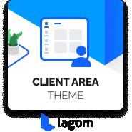 Lagom Simple WHMCS theme