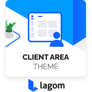 Lagom Simple WHMCS theme