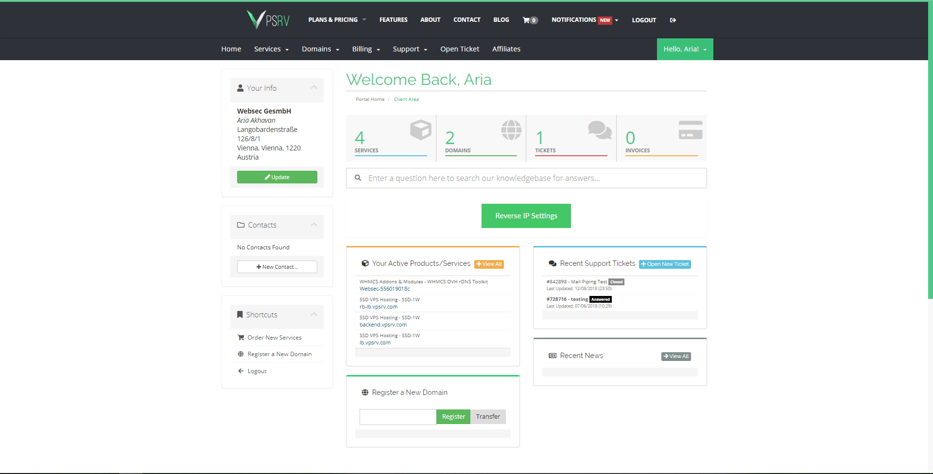 OVH Reseller rDNS Toolkit - WHMCS Marketplace