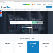 Proud Host Bootstrap 3 Template