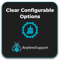 Clear Configurable Options