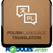 Polish Language Translation For WHMCS