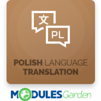 Polish Language Translation For WHMCS