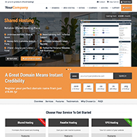 Stellar PHP/HTML template (with automatic WHMCS sync)