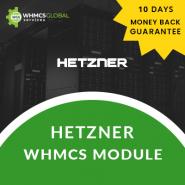 Hetzner Cloud WHMCS Module