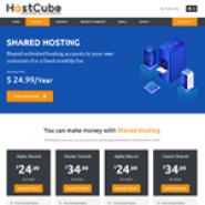 HostCube WHMCS Hosting Theme